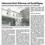 Lebensraum Rheingau Taunus e.V. bietet Wohnraum und Beschäftigung in Lorch