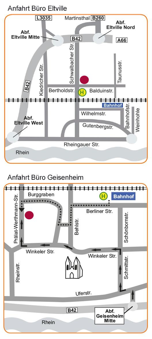 Anfahrt Betreutes Wohnen Wiesbaden